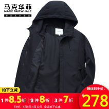 Jacket Mark Fairwhale / mark Warfield Youth fashion Black (version: combination version) picture color picture color 1 46 / 165 / s 48 / 170 / M 50 / 175 / L 52 / 180 / XL 54 / 185 / XXL 56 / 190 / XXXL routine Self cultivation Other leisure autumn Polyester 100% Long sleeves Wear out Lapel tide