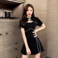 Fashion suit Summer 2021 S for 78-95 kg m for 95-105 kg L for 105-115 kg XL for 115-125 kg XXL for 125-135 kg black 25-35 years old Ya makeup PSFS-- 9113 Polyester 55% other 45% Pure e-commerce (online only)