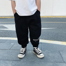 trousers Le Yue Lue male 80cm,90cm,100cm,110cm,120cm,130cm,140cm Grey, black, grey pre-sale, black pre-sale spring and autumn trousers motion There are models in the real shooting Sports pants Leather belt middle-waisted Don't open the crotch 211KZ047 Two, three, four, five, six, seven, eight, nine