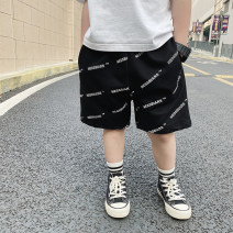 trousers Le Yue Lue male 80cm,90cm,100cm,110cm,120cm,130cm,140cm Grey, black, grey pre-sale, black pre-sale summer shorts motion There are models in the real shooting Sports pants Leather belt middle-waisted cotton Don't open the crotch 212KZ015 Two, three, four, five, six, seven, eight, nine