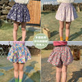 trousers Other / other female 90cm, 100cm, 110cm, 120cm, 130cm, 140cm, some of them are sold in advance for 5 days Light pink broken flowers, small red flowers, colorful flowers, sapphire blue and white summer shorts Korean version Culotte cotton Cotton 95% other 5% Chinese Mainland