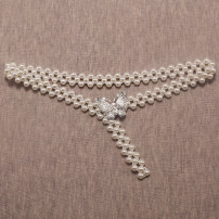 Belt / belt / chain Metal female Waist chain Sweet Single loop Youth, youth, middle age a hook Diamond inlay Glossy surface 2cm alloy Naked, beaded 65cm,75cm