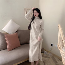 Wool knitwear Winter 2020 Average size Long sleeves singleton  Socket other 30% and below Regular routine commute easy High collar routine Solid color Socket Korean version 18-24 years old