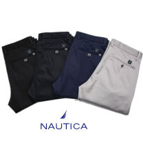 Casual pants Nautica / nodica other 29,30,31,32,33,34,35,36,38,40,42 thin trousers Other leisure Straight cylinder summer middle-waisted Straight cylinder No iron treatment cotton cotton Less than 30%
