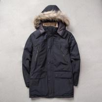 Warm cotton clothes BLAEKSPHCE male 101-200 yuan Black, dark blue S (less than 130 kg), m (less than 150 kg), l (less than 170 kg), XL (less than 190 kg), XXL (less than 210 kg) Windproof, breathable, wear-resistant, warm Medium length Silk floss polyester fiber