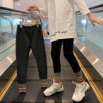 "trousers Guldoeleph / Gudong elephant female 120cm 130cm 140cm 150cm 160cm 170cm Black striped tucking pant ""Spring Edition"" grey striped tucking pant ""Spring Edition"" grey striped tucking pant ""plush edition"" black striped tucking pant ""plush edition"" spring and autumn trousers Korean version cotton"