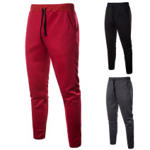 Casual pants Others Fashion City Red, grey, black S,M,L,XL,2XL routine trousers Other leisure Straight cylinder get shot middle-waisted Little feet Overalls