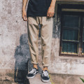 Casual pants Youth epidemic Khaki Navy black light grey dark grey Other /other XXL M L XL conventional K17106 Other leisure Loose trousers two thousand and eighteen tide four seasons youth Low waist Washing