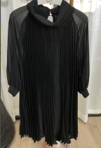 Dress Summer of 2019 black S,M,L F15Q