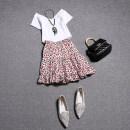 Fashion suit Summer 2020 S,M,L White, black 18-25 years old 51% (inclusive) - 70% (inclusive) cotton