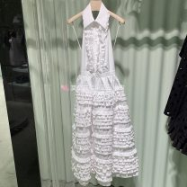 Dress Summer 2021 More than 95% cotton Prada / Prada If you can't get the refund, you can pay 1% of the service charge for the credit card, and take a note of the number of yards white