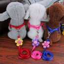 Household traction belt other Dog Non scalable Red dark blue coffee Pink 【S】 Bust 25-38cm [M] bust 30-48cm