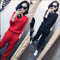 Fashion suit Spring 2021 S,M,L,XL,XXL,XXXL,4XL,5XL Black, white, red, sky blue, blue Ouyimei 81% (inclusive) - 90% (inclusive)
