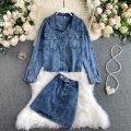 Fashion suit Autumn 2020 S,M,L blue 18-25 years old 31% (inclusive) - 50% (inclusive)
