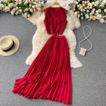 Fashion suit Summer 2021 Average size Black, white, yellow, pink, purple, red, green 18-25 years old 31% (inclusive) - 50% (inclusive)