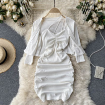Fashion suit Spring 2021 Average size Black, white 18-25 years old 31% (inclusive) - 50% (inclusive)