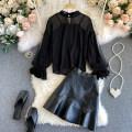 Fashion suit Autumn 2020 M, L Black, pink 18-25 years old 31% (inclusive) - 50% (inclusive)