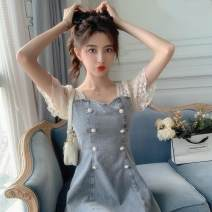 Quick drying suit 101-200 yuan S,M,L,XL Light blue Autumn 2020 1 ℃ only - III / degree unique - I summer female