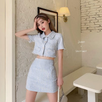 Fashion suit Summer 2020 S,M,L Jacket, skirt 18-25 years old Other / other five hundred and five