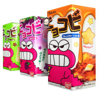 Crisp biscuit packing Crayon biscuit 25g Japan 1200g Tohado (Japan) One hundred and twenty-three See packaging See packaging One hundred and twenty-three See packaging See packaging Chocolate flavor (green popular style) Caramel cheese flavor (yellow) almond tofu flavor