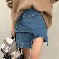 skirt Spring 2021 S design style, m design style, l design style, XL design style blue