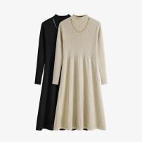 Dress Winter 2020 Apricot, black, khaki S,M,L