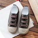 Low top shoes 35 36 37 38 39 40 Other / other Brown White Black Round head Flat bottom Superfine fiber Deep mouth Low heel (1-3cm) cloth Spring of 2018