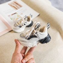 Walking shoes / baby walking shoes synthetic leather neutral spring and autumn Trochanter PVC Color matching Hollowing out Spring 2021