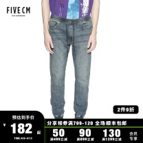Jeans Youth fashion 5cm 28 30 32 34 Blue/BLX routine 5CXJNJ6504F8B trousers Cotton 99% polyurethane elastic fiber (spandex) 1% youth tide Autumn of 2018 Same model in shopping mall (sold online and offline)