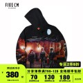 Sweater Youth fashion FIVE cm BKX / Black S M L XL other Socket 5CXSWX3167W9D Cotton 100% Winter of 2019 Same model in shopping mall (sold online and offline)