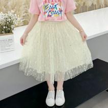 skirt 110cm 120cm 130cm 140cm 150cm 160cm 170cm Single skirt powder East + skirt green SPR + skirt BOATHJOE female Other 100% summer skirt princess Solid color Pleats other basdd030