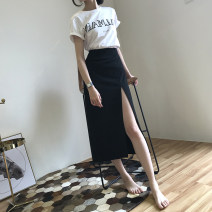 skirt Summer 2020 XS S M L XL black Mid length dress commute High waist Little black dress Solid color Type A 25-29 years old U21066F More than 95% UFP other Three dimensional decorative zipper and open line decorative splicing Retro Other 100% Pure e-commerce (online only)