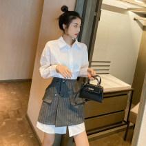 glove other Single white shirt single grey skirt white shirt + grey skirt S M L XL Jorfrey / Geoffrey Spring 2021