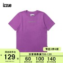 T-shirt BKX / Black BLX / Blue PPX / purple whx / white XS S M Spring of 2019 Short sleeve Crew neck Regular cotton 96% and above izzue IZXTEJ1129S9C Cotton 100% Same model in shopping mall (sold online and offline)