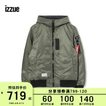 Down Jackets Black Khaki White izzue White duck down S M L XL Youth fashion Other leisure have cash less than that is registered in the accounts routine 90% Wear out Hood Wear out youth 100g (including) - 150g (excluding) tide Other 100% other Winter of 2018