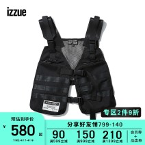 Vest / vest Youth fashion izzue S M L XL BKX / Black Other leisure standard Vest IZXVCR7600F9D Other 100% Winter of 2019 Same model in shopping mall (sold online and offline)