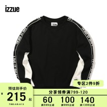 Sweater / sweater Winter of 2018 Black Red White (Yellow) XS S M L XL Long sleeves routine Socket singleton  routine Crew neck easy street routine letter 18-24 years old 96% and above izzue cotton IZXSWJ3127F8B Cotton 100% Same model in shopping mall (sold online and offline)