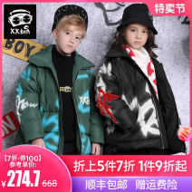 Down Jackets 110cm 120cm 130cm 140cm 150cm 160cm 90% White duck down Child male Xxbin / Xiaobin Dark green yellow black polyester fiber have cash less than that is registered in the accounts nothing Zipper shirt Cartoon animation BY106 Class C Polyester 100% Polyester 100% Winter of 2019 leisure time