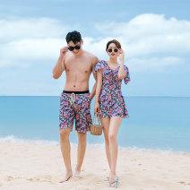 Couple swimsuit Qihai M,L,XL,XXL,XXXL,4XL Men's, women's 21121 lovers other currency