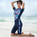 Diving suit Aiqilin female 51-100 yuan 2038 two piece set M,L,XL,XXL,XXXL diving China Autumn 2020 nylon Split body