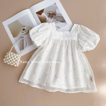 Dress Stock, order female Other / other 80cm,90cm,100cm,110cm,120cm Cotton 80% other 20% summer Short sleeve cotton Princess Dress 3 months, 12 months, 6 months, 9 months, 18 months, 2 years old, 3 years old, 4 years old, 5 years old, 6 years old