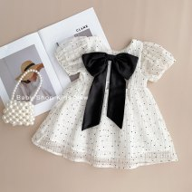 Dress goods in stock female Other / other 80cm,90cm,100cm,110cm,120cm Cotton 80% other 20% summer Korean version Skirt / vest Dot cotton Pleats MC95038 12 months, 3 years, 18 months, 9 months, 6 months, 2 years, 5 years, 4 years Chinese Mainland