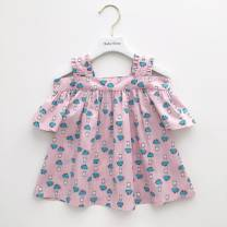 Dress goods in stock female Other / other 73cm,80cm,90cm,100cm,110cm Cotton 80% other 20% 12 months, 6 months, 9 months, 18 months, 2 years old, 3 years old, 4 years old, 5 years old, 6 years old