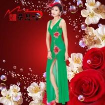 Dress Spring 2016 White, red, green, black, sky blue S,M,L,XL,2XL W3192