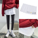 skirt Spring 2021 M English letter koala bear solid color regular black smile Short skirt Versatile Natural waist A-line skirt 25-29 years old 91% (inclusive) - 95% (inclusive) Yiyuan cotton Cotton 95% polyurethane elastic fiber (spandex) 5% Pure e-commerce (online only)