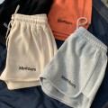 Casual pants XXL M L XL Autumn 2020 shorts Wide leg pants Natural waist commute routine 18-24 years old 31% (inclusive) - 50% (inclusive) Milin cotton Korean version printing and dyeing cotton Other 100% Pure e-commerce (online only)