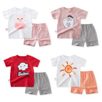 suit Other / other 66cm,73cm,80cm,90cm,100cm neutral summer leisure time Short sleeve + pants 2 pieces Thin money No model Socket nothing other Pure cotton (100% cotton content) children Class A Cotton 100% 3 months Chinese Mainland Guangdong Province Jieyang City