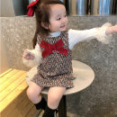 Dress female 90cm,100cm,110cm,120cm,130cm,140cm,150cm,160cm Cotton 90% other 10% winter leisure time Skirt / vest other cotton other TZ763 Class A Chinese Mainland Zhejiang Province Hangzhou