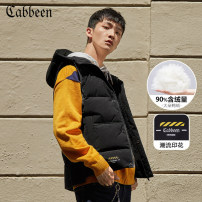 Down Jackets White duck down CABBEEN / Carbene Youth fashion routine Other leisure thin 3194140502# 90% Hooded youth Polyester 100% Solid color Autumn 2019 polyester fiber Same model in shopping malls (both online and offline) More than 95% 48/170/M 50/175/L 52/180/XL 54/185/XXL 56/190/XXXL