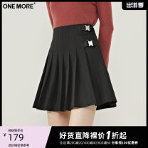skirt Winter 2020 155/62A/XS 160/66A/S 165/70A/M Black presale 2 black presale 3 Short skirt grace High waist A-line skirt other Type A 25-29 years old More than 95% one more polyester fiber Frenulum Polyester 100% Same model in shopping mall (sold online and offline)